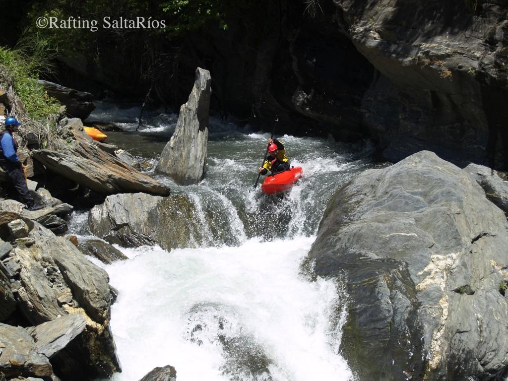 Tramo del río entre Trevélez y Busquístar