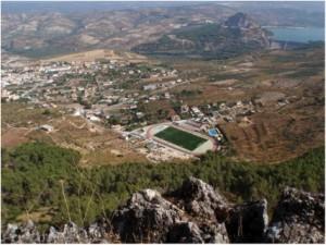 Vista desde vía ferrata Cuevas San Marcos