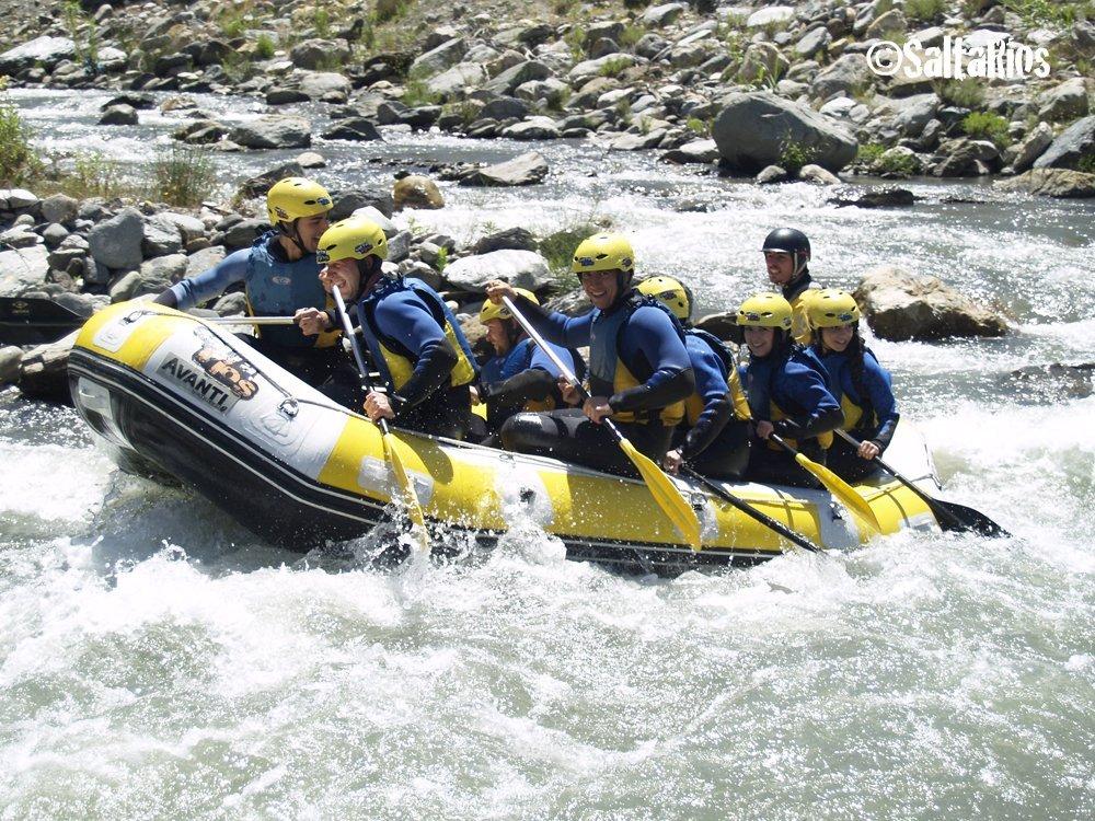 Descenso en rafting del río Guadalfeo