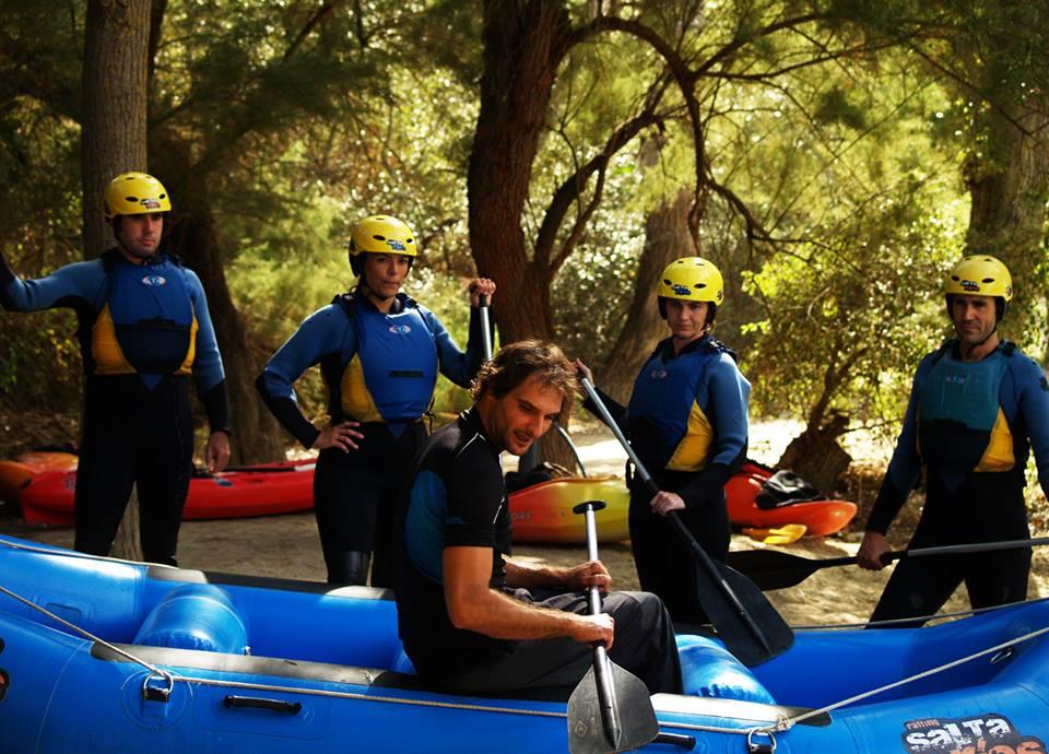 seguiridad en rafting