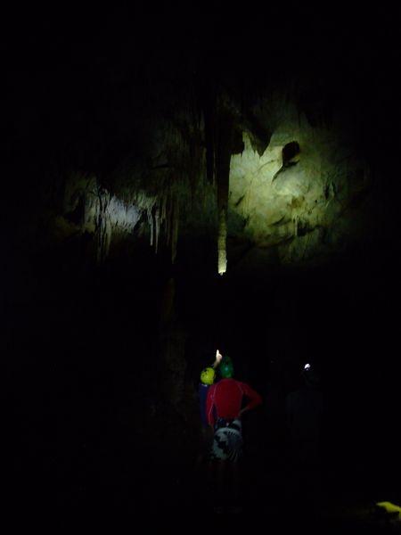 Estalactita de una cueva en el Parque de Picos de Europa. Foto: Alberto Cordero.